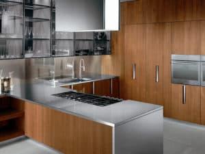 Стильная современная кухня фото 1