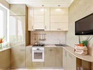 Кухня в хрущевке 2