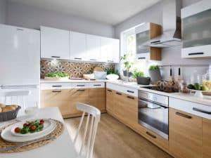 Стильная современная кухня фото 3