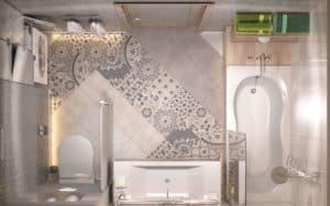 Планировка ванной комнаты (фото 2)