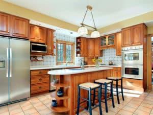 Идея интерьера кухни фото 2