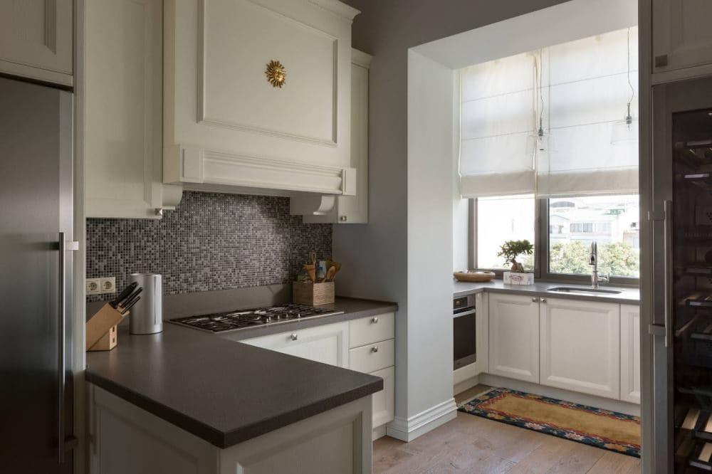 Кухня на лоджии дизайн