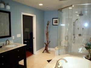 Интерьер ванной комнаты (фото 2)