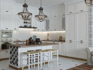 Дизайн кухни в стиле прованс 3