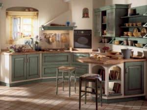 Оформление кухни в стиле прованс 3