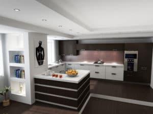 Зонирование на кухне 1