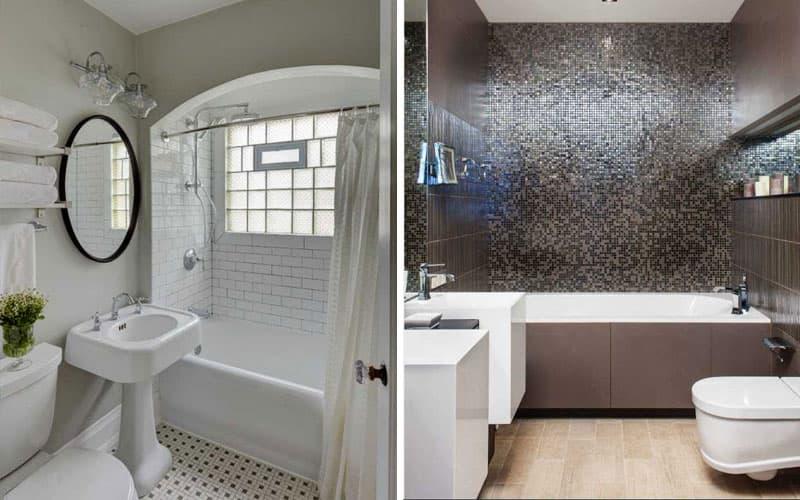 Идея дизайна ванной комнаты