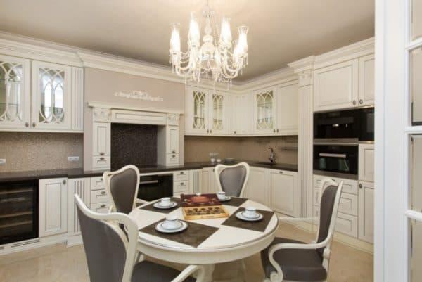Кухня в стили классики