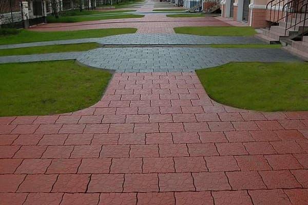 Полимерная тротуарная плитка