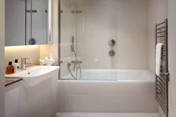 Минимализм в ванной комнате
