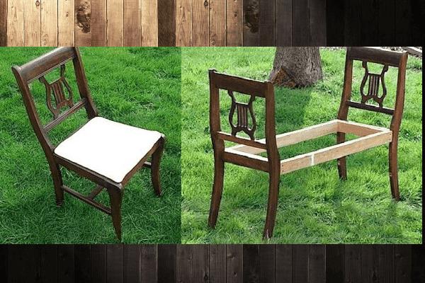 Разобрать стулья